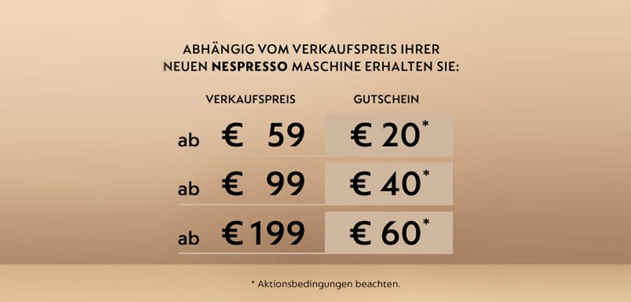 Nespresso Promotion Banner