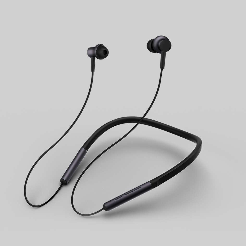 Xiaomi Mi Bluetooth Neckband Earphones, Schwarz