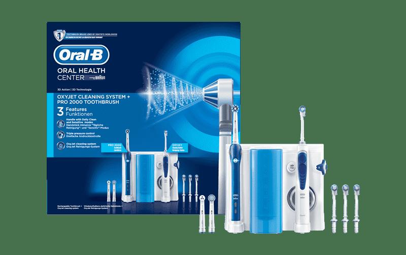 Oral-B Zahnseide und Mundspülung