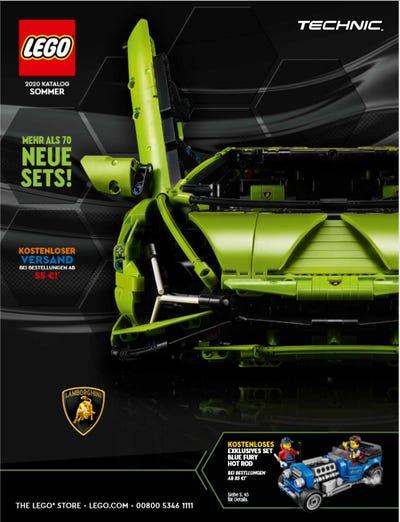 Lego Katalog Sommer 2020 Cover