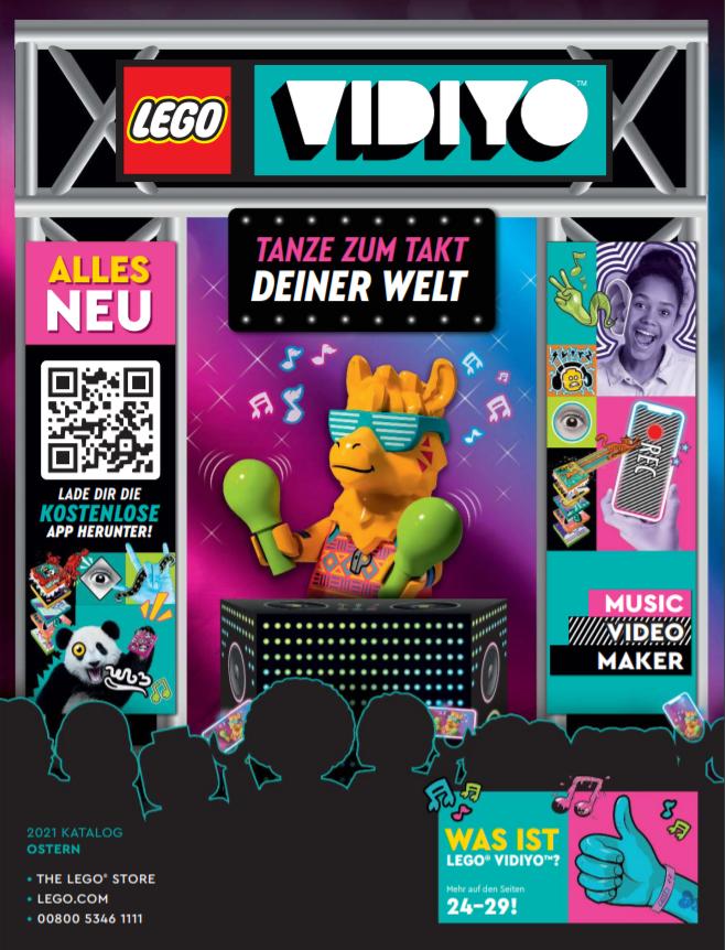Lego Katalog Ostern 2021 Cover
