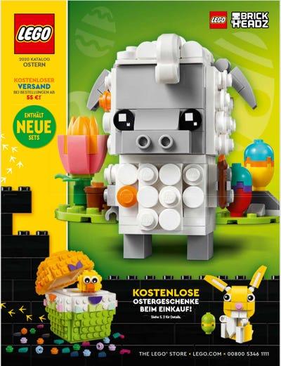 Lego Katalog Ostern 2020 Cover