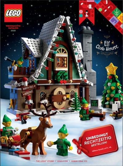 Lego Katalog Weihnachten 2020 Cover